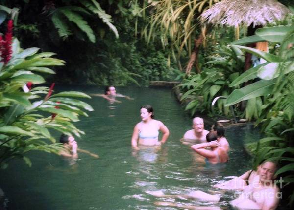 Photograph - Natural  Hot Spring by Ted Pollard