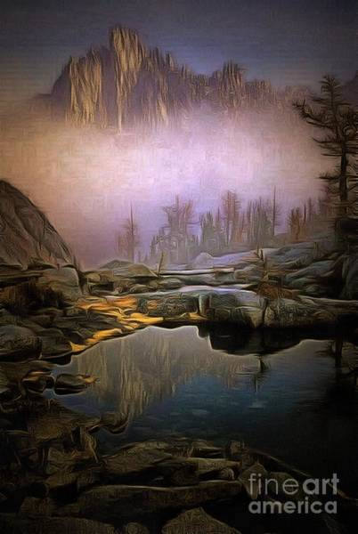 Painting - Natural Spring Lit In Ambiance by Catherine Lott