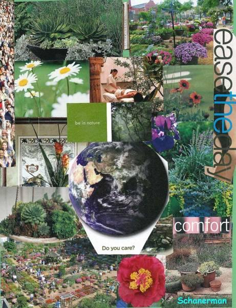 Mixed Media - Nature Power by Susan Schanerman