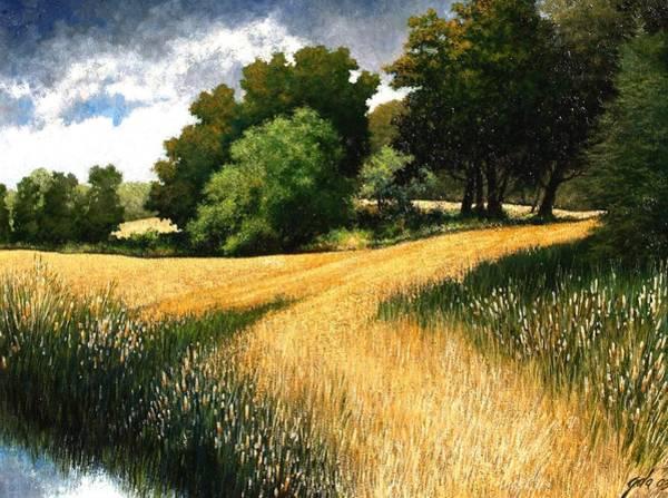Wall Art - Painting - Nature Walk Ridgefield Washington by Jim Gola