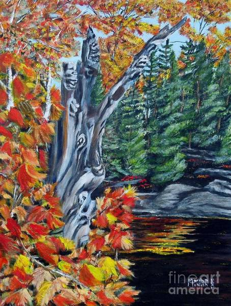 Painting - Natures Faces by Marilyn  McNish