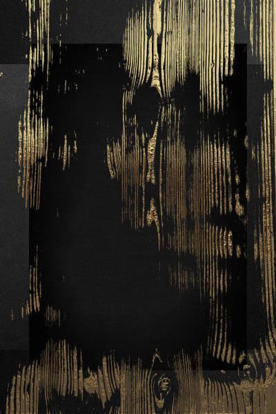 Digital Art - Nature's Secret Code - The Wood Grain Message #3 by Serge Averbukh