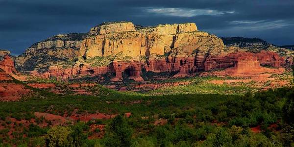 Photograph - Nature's Spotlight, Sedona, Arizona by Flying Z Photography by Zayne Diamond
