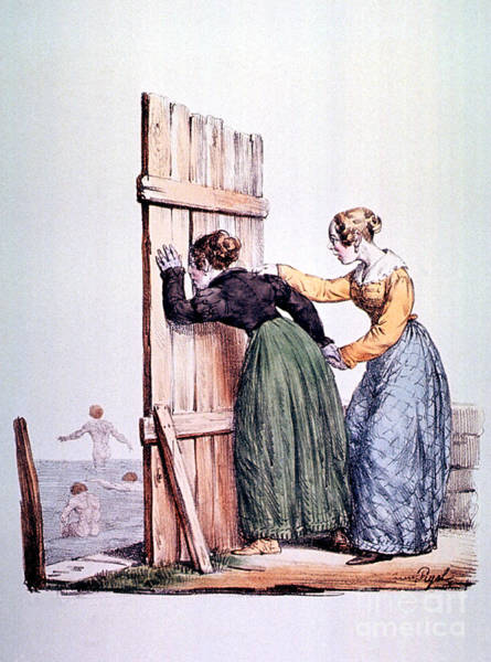 Photograph - Naughty Ladies 19th Century by Science Source