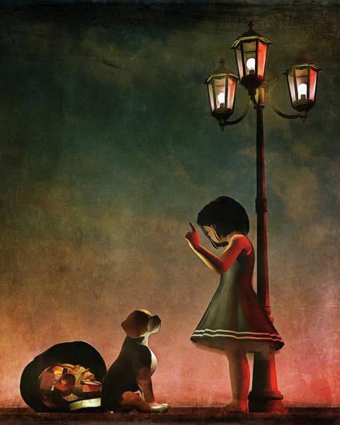 Painting - Naughty Naughty by Jan Keteleer