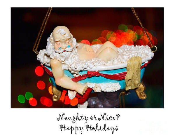 Photograph - Naughty Or Nice by Traci Cottingham