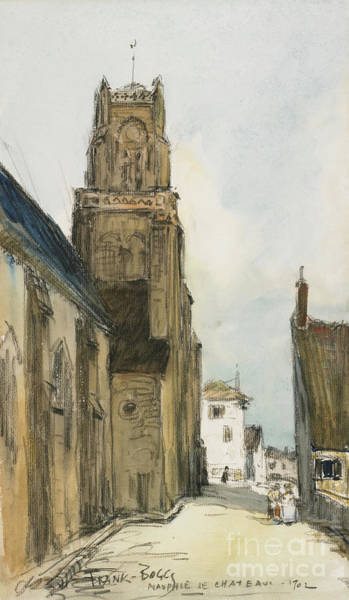 Avenue Painting - Nauphie De Chateau, 1902 by Frank Myers Boggs