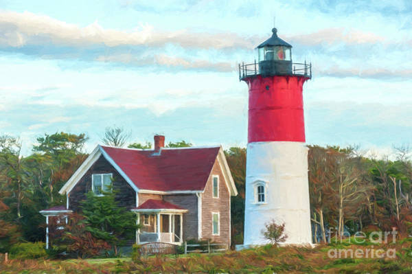 Photograph - Nauset Light by Michael James