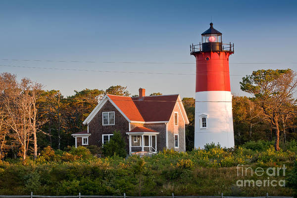 Wall Art - Photograph - Nauset Beach Light by Susan Cole Kelly