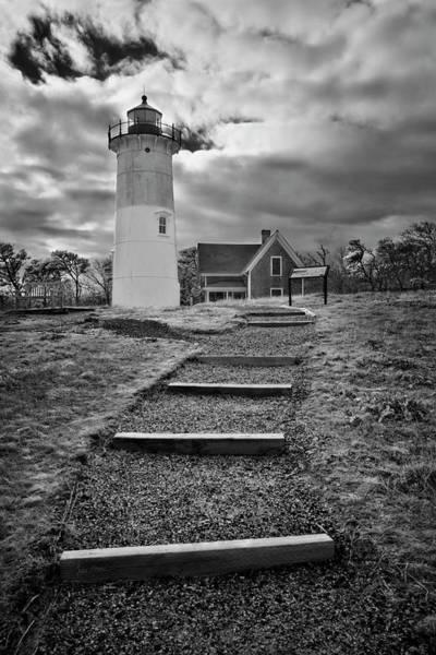 Photograph - Nauset Light Infrared by Luke Moore