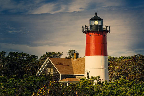 Photograph - Nauset Lighthouse II by Joan Carroll