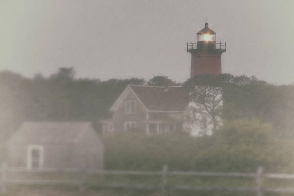 Photograph - Nauset Lighthouse In Red And White From Early Morning To Late by Jeff Folger