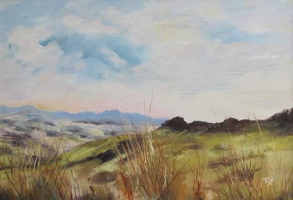 Painting - Nausori Highlands Of Fiji by Ryn Shell