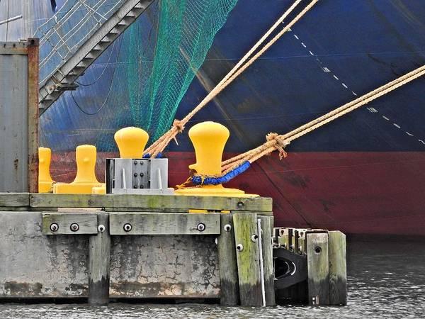 Wall Art - Photograph - Nautical Abstraction by Laura Ragland