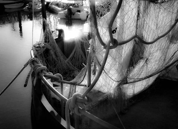 Photograph - Nautical Dreams Bw by Bonnie Follett