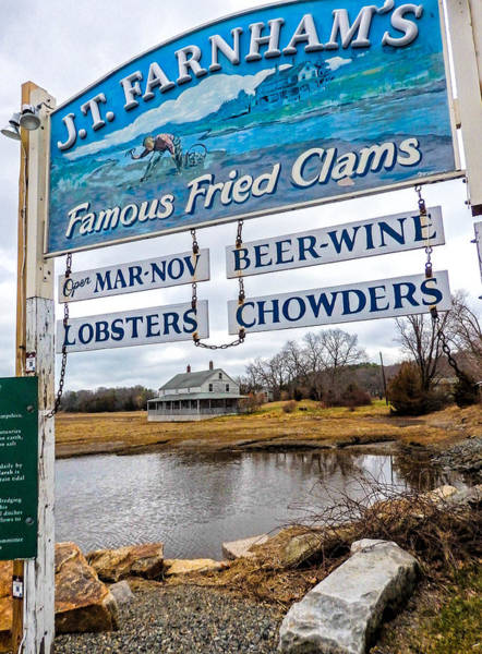 Photograph - Nautical Landmarks In Essex Massachusetts by Nancy De Flon