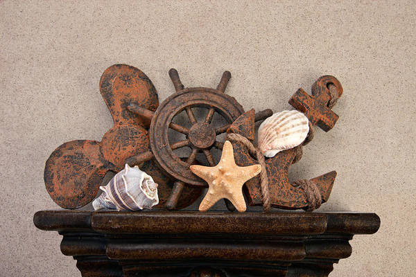 Shelves Photograph - Nautical Still Life IIi by Tom Mc Nemar