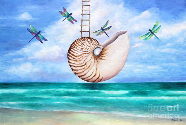 Wall Art - Painting - Nautilus Evolution by Gabriela Valencia