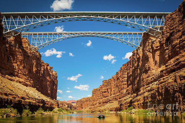 Sculpting Wall Art - Photograph - Navajo Bridge by Inge Johnsson