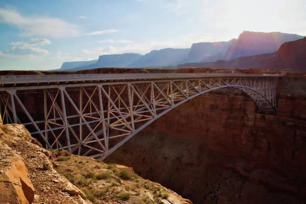 Wall Art - Photograph - Navajo Bridge by Lana Trussell