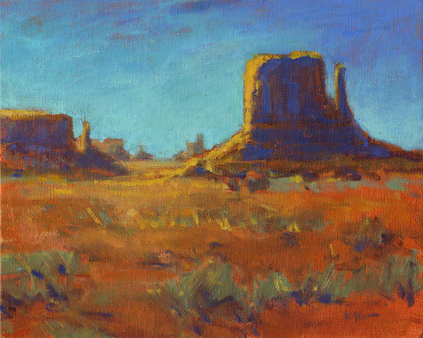 Painting - Navajo Nation by Konnie Kim