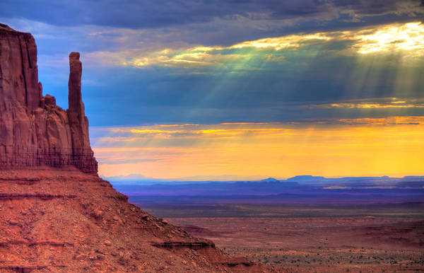 Wall Art - Photograph - Navajo Lands by William Wetmore