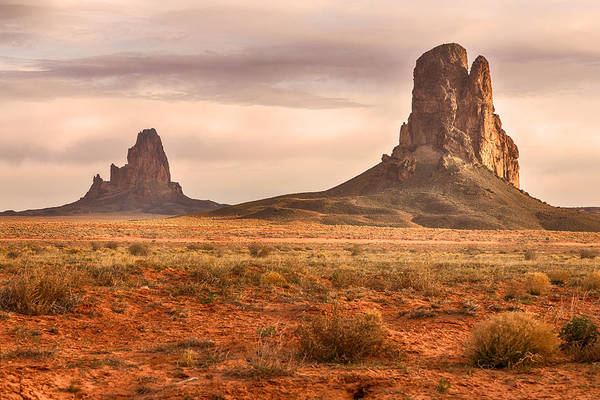 Photograph - Navajo Nation Kayenta Monuments by James BO Insogna