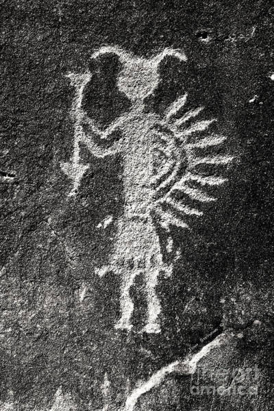 Wall Art - Photograph - Native American Petroglyph by John Stephens