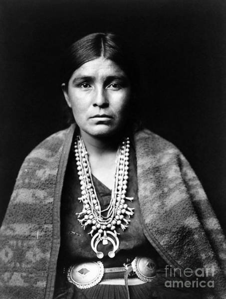 Painting - Navajo Woman, C1904 by Granger