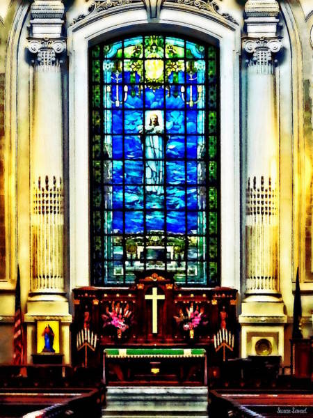 Photograph - Naval Academy Chapel by Susan Savad