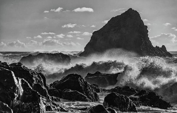Photograph - Navarro Beach Waves Albion Ca by Donnie Whitaker