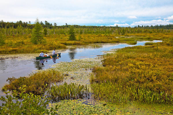 Photograph - Navigating Brown's Tract Inlet by David Patterson