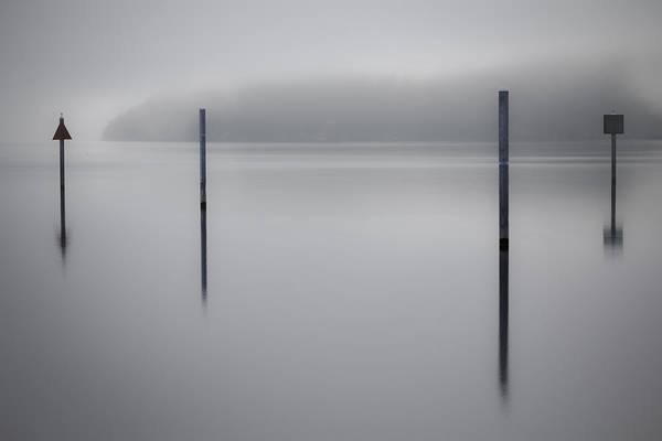 Wall Art - Photograph - Navigating In Fog by Tony Locke