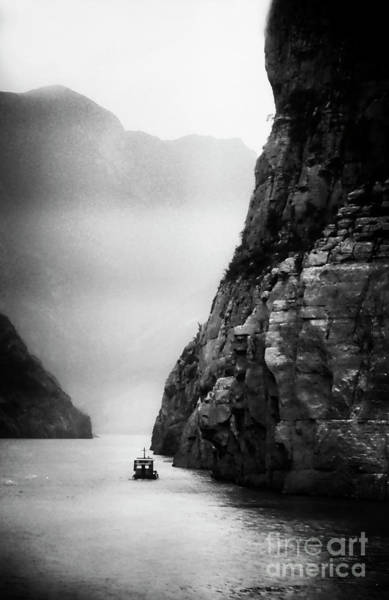Photograph - Navigating The Yangtze by Scott Kemper