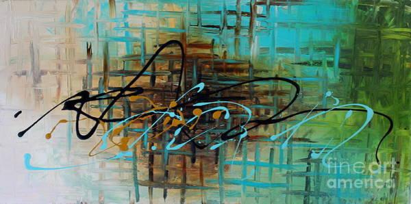 Painting - Navigation by Preethi Mathialagan