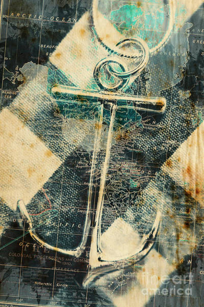 Wall Art - Photograph - Navigation Sea Anchor by Jorgo Photography - Wall Art Gallery