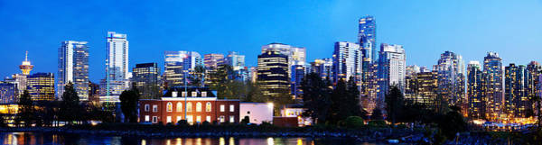 Wall Art - Photograph - Navy League Of Canada And Vancouver Skyline by Julius Reque