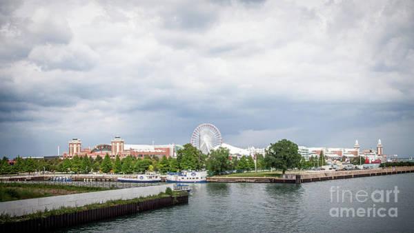 Navy Pier In Chicago Art Print