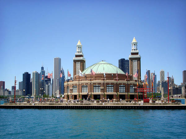 Photograph - Navy Pier by Julie Palencia