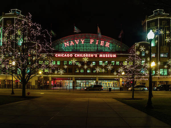 Photograph - Navy Pier by Stewart Helberg