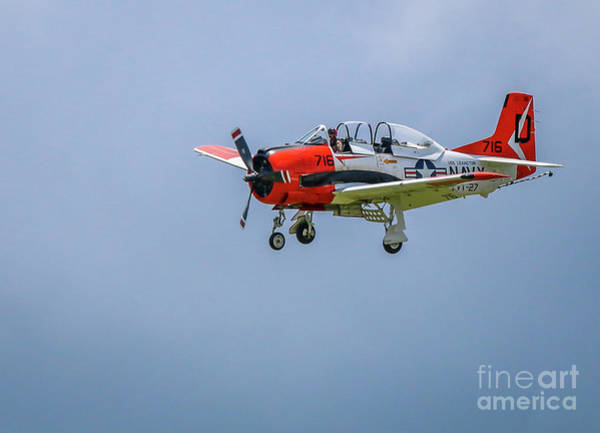 Photograph - Navy Trainer #1 by Tom Claud