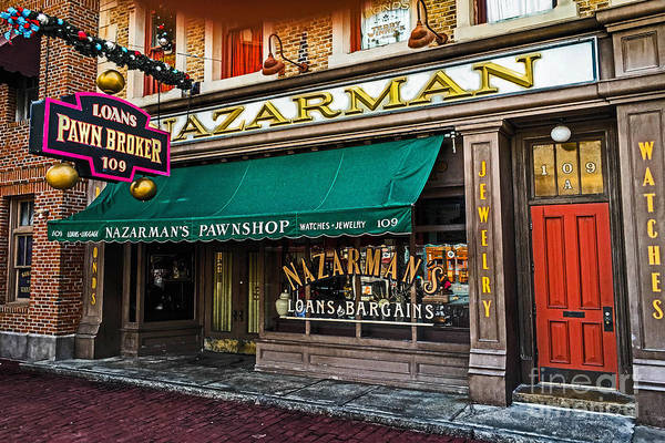 Photograph - Nazerman The Pawnbroker by Gary Keesler