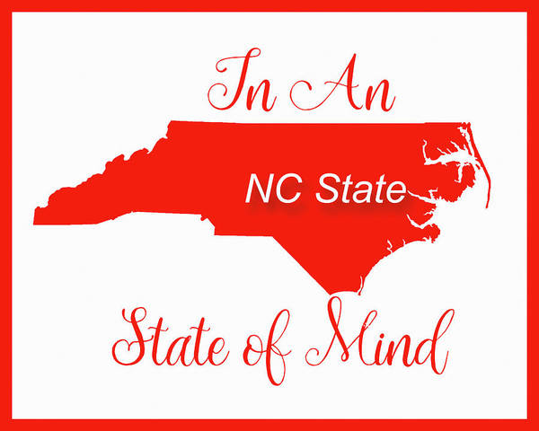 Photograph - Nc State State Of Mind by Paulette B Wright