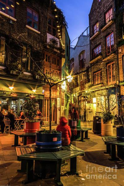 Photograph - Neal's Yard, London. by Nigel Dudson