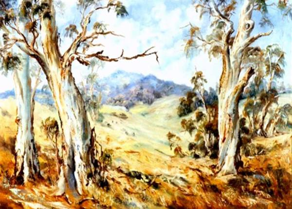 Painting - Near Avoca by Ryn Shell