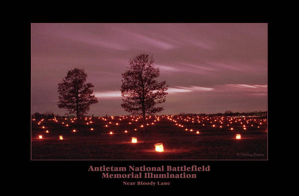 Luminaries Photograph - Near Bloody Lane 92 by Judi Quelland