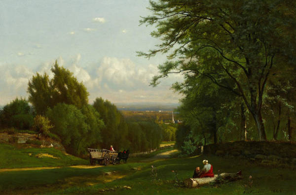Painting - Near Leeds, New York by George Inness