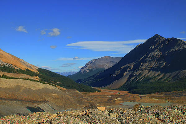 Photograph - Near The Athabasca Glacier In The Canadian Rockies by Ola Allen
