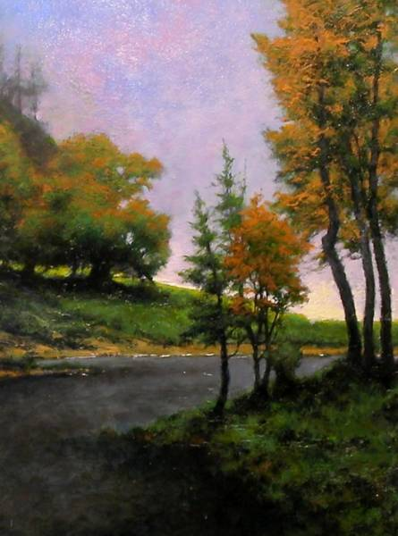 Painting - Near Woodland by Jim Gola
