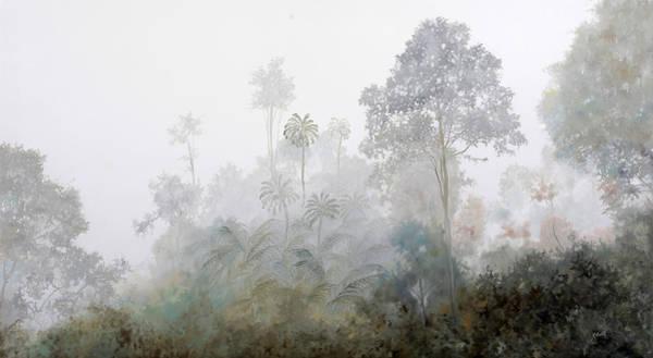 Jungle Painting - Nebbia Nella Foresta by Guido Borelli